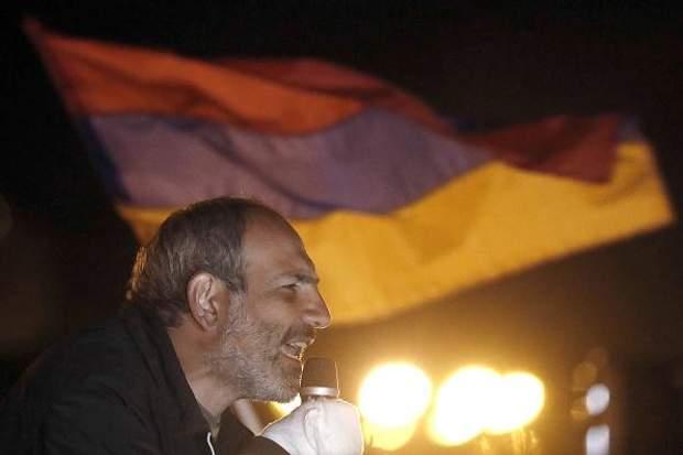 Нікол Пашинян Вірменія опозиція
