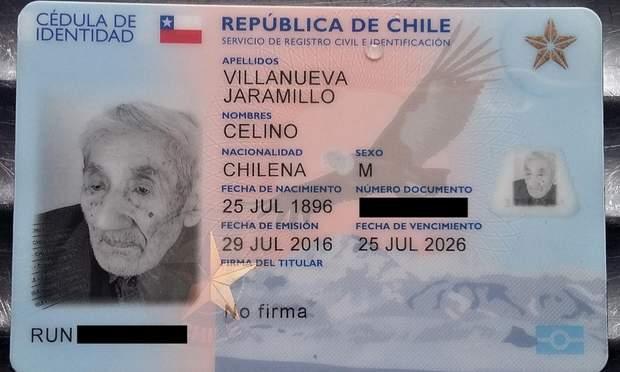 помер найстаріший чоловік світу Чилі
