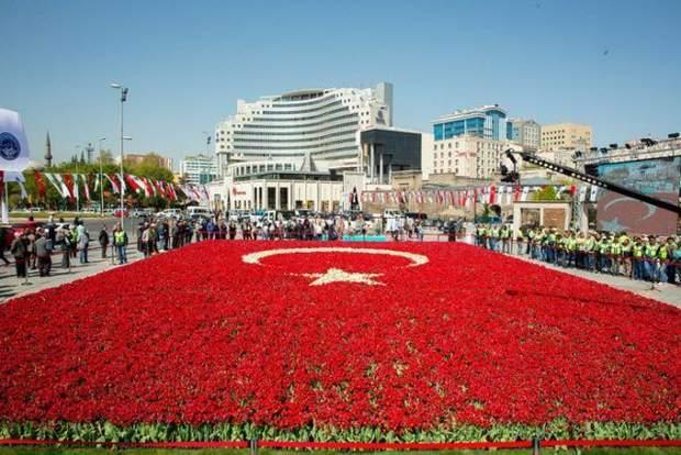 туреччина тюльпановий рекорд