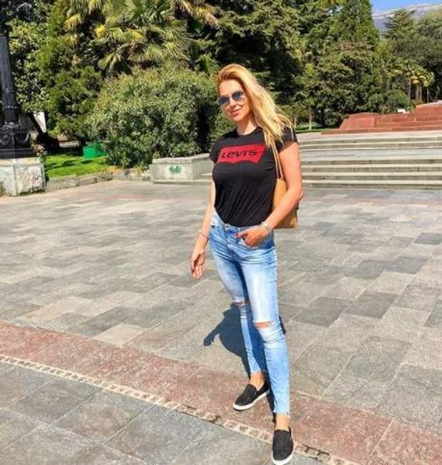 Яна Клочкова в Криму