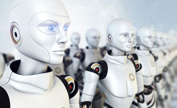 роботы пришли забрать работу