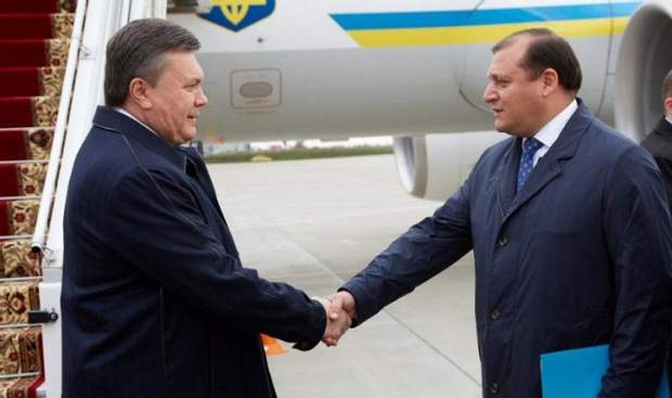 Янукович з Добкіним