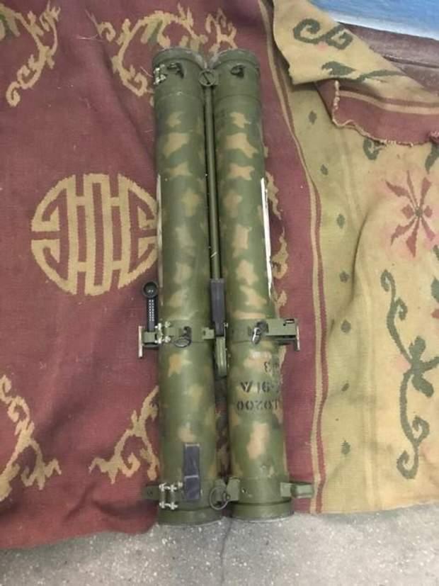 СБУ зброя з АТО