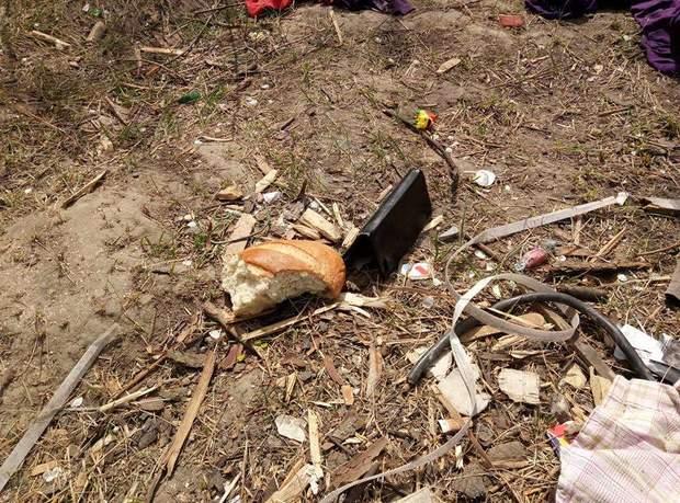 Роми табір Київ підпал пожежа