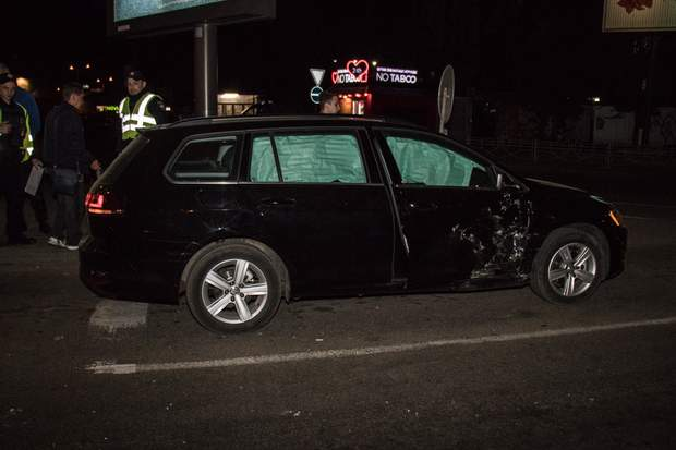 Водій авто Daewoo Nexia протаранив Volkswagen Gol