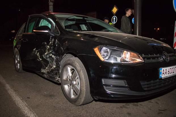 У Києві сталася серйозна аварія