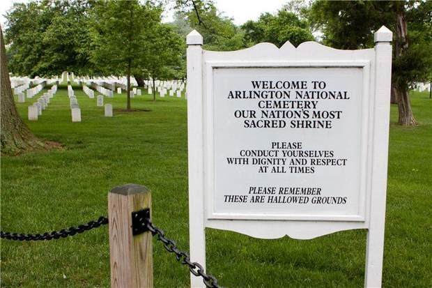 Поховання по-американськи