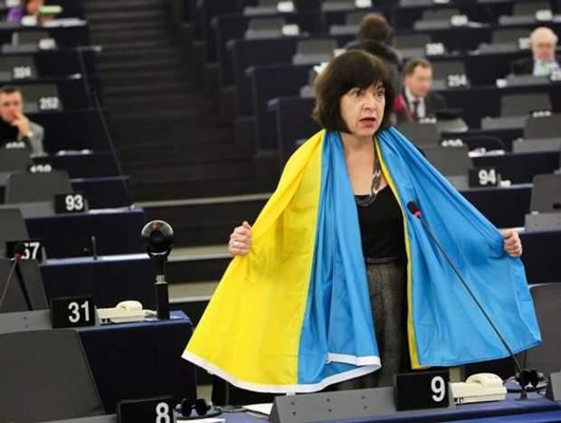 Ребекка Гармс закликає євродепутатів бойкотувати Чемпіонат із футболу в Росії