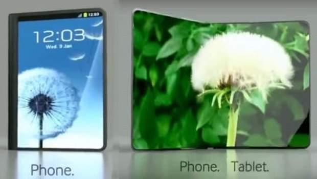 Прототипи гнучких ґаджетів від Samsung