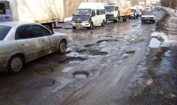 Жахливий стан доріг в Україні
