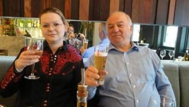Сергей Скрипаль и его дочь Юлия Скрипаль