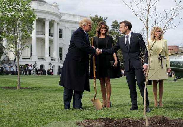 Президенти США та Франції