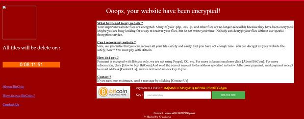 Хакери, атака, Міненерговугілля, Zakaria, сайт