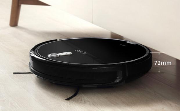 iLife A8 добре прибирає під меблями завдяки невеликій висоті