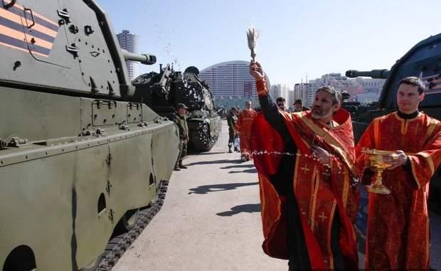 РПЦ, війна на Донбасі, УПЦ МП