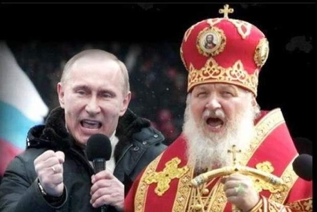 Путін РПЦ, Кирило