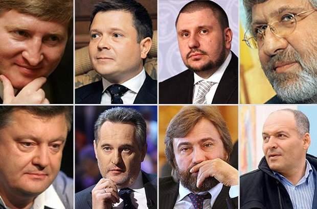 олигархи порошенко ахметов коломойский