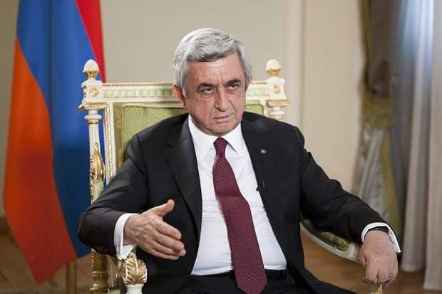 Серж Саргсян Вірменія