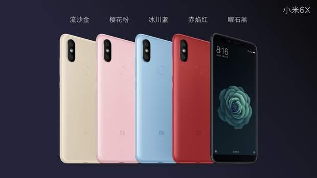 Xiaomi офіційно представила Mi6X