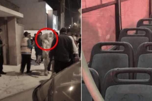 Перу, підпалення, автобус, жінка