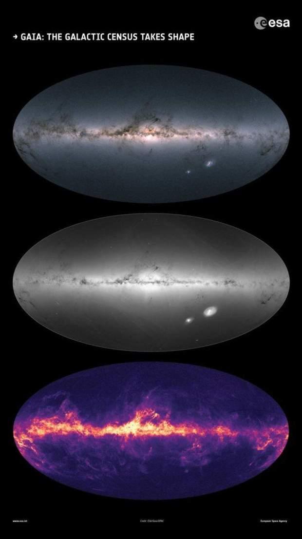 Дуже детальна карта Чумацького Шляху