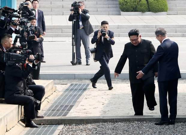Зустріч лідерів Південної Кореї та КНДР