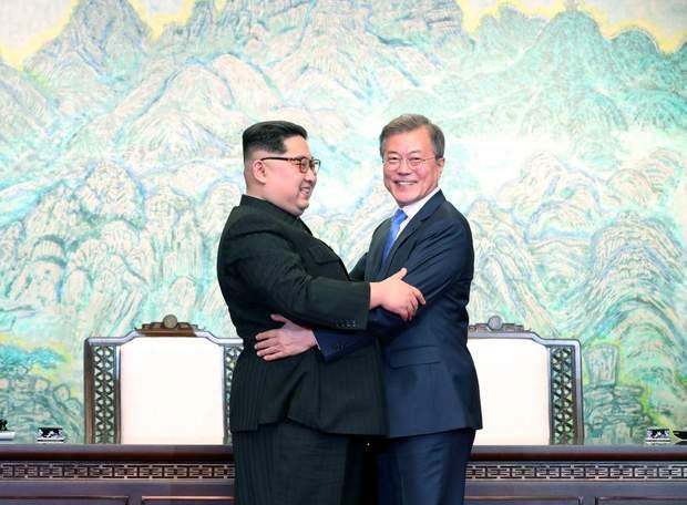 Зустріч Кін Чен Ина і Мун Чже Іна