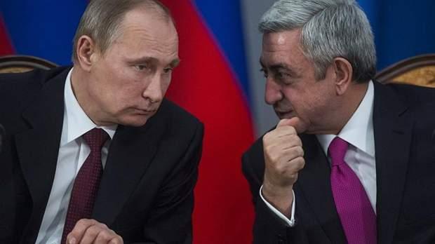 Путін Саргсян