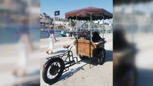 Велосипед Володимира Бевза