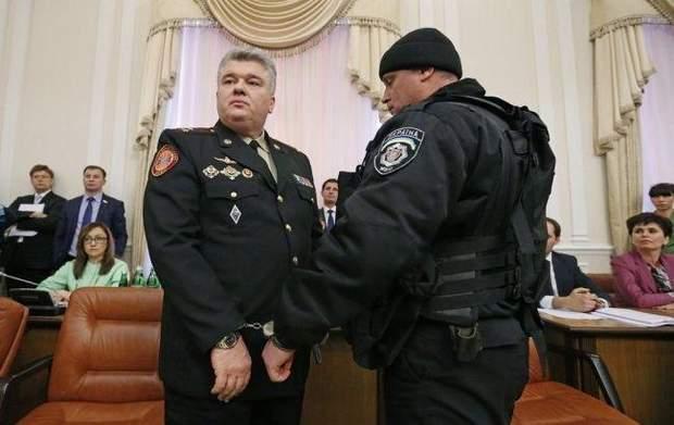 Затримання Сергія Бочковського
