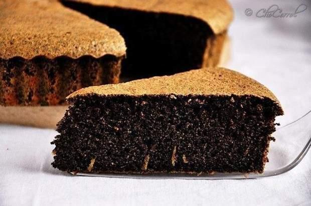 Рецепт макового пирога без цукру
