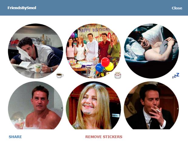 Скріншот стікерпаку FriendsBySmol