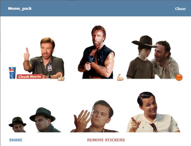 Скріншот стікерпаку Meme_pack