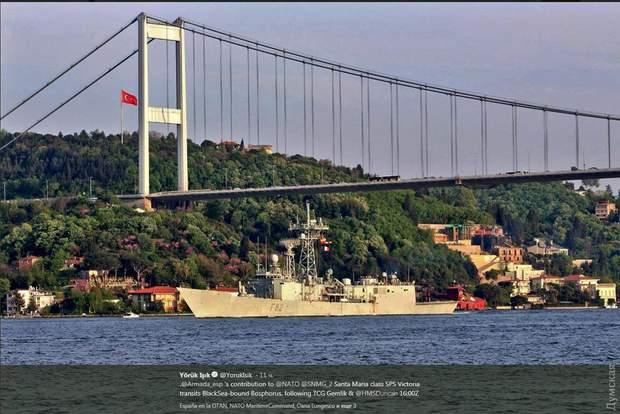 Корабель НАТО Чорне море