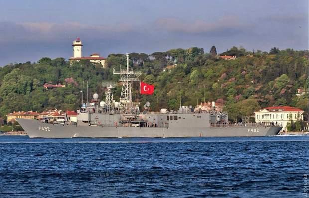 Військовий корабель НАТО Чорне море