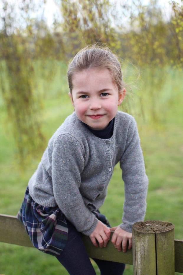 Принцеса Шарлотта святкує 4 день народження