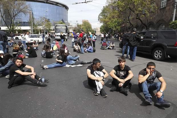 Вірменія протести