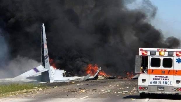 Авіакатастрофа, США, жертви, Нацгвардія