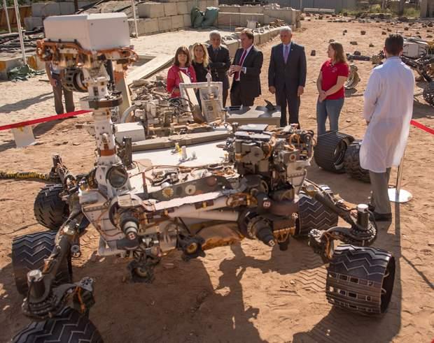 NASA продемонструвало новий тип марсоходу