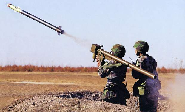 Джавеліни ПЗРК війна на Донбасі
