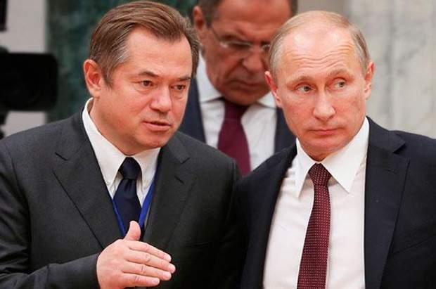 Сергій Глазьєв та Володимир Путін