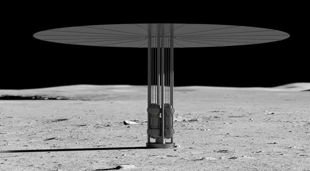 NASA, Місяць, Марс, ядерні випробування, реактор, космос, енергетика