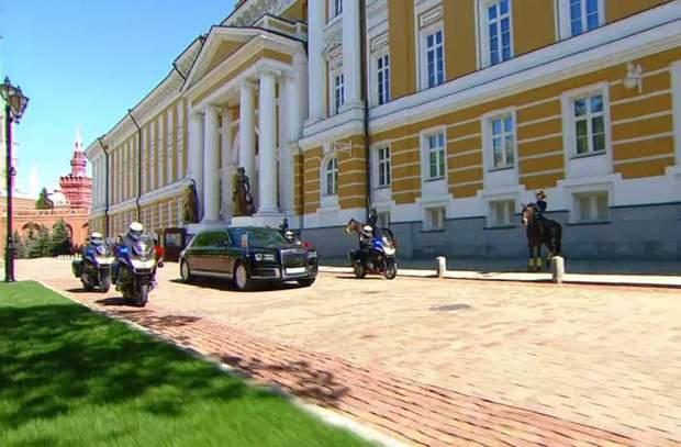 Путін, лімузин, Росія, інавгурація