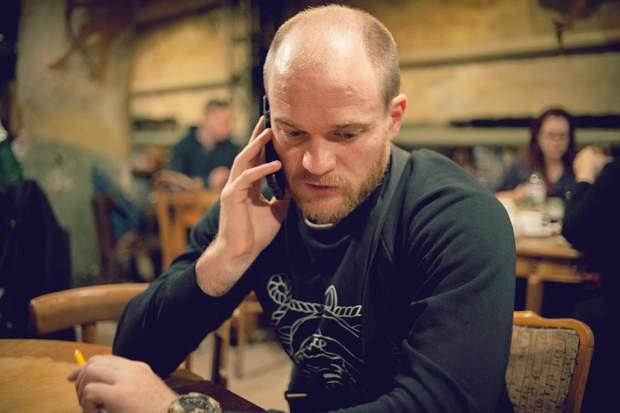 Боец ВМС Украины Игорь Руляк