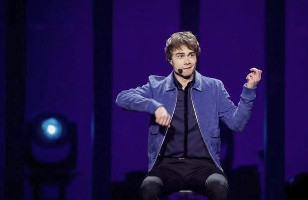 Первый полуфинал Евровидения 2018: Alexander Rybak (Норвегия)