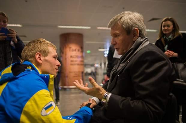 Валерій Сушкевич, за словами Григорія, дуже підтримує україських спортсменів-паралімпійців
