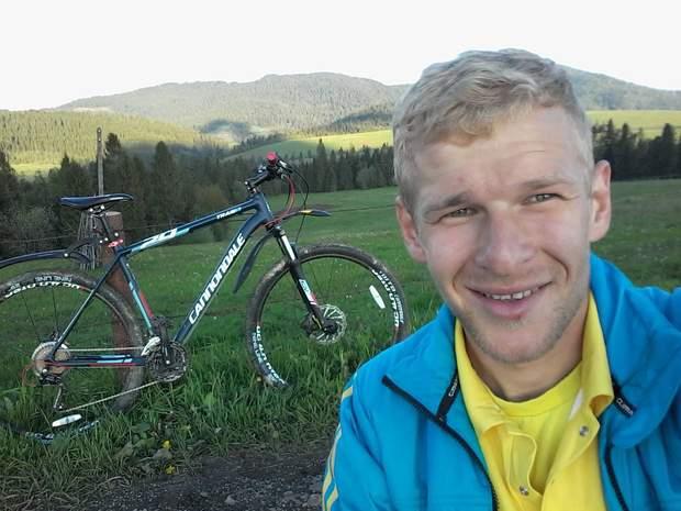 Вовчинський віддає перевагу велосипеду як транспорту пересування