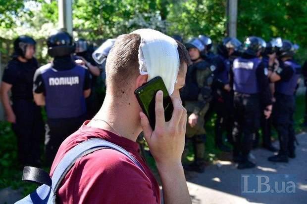 Мазилюк, журналіст, сутички, Нацкорпус, Нацгвардія, Льовчкін, Інтер, Київ