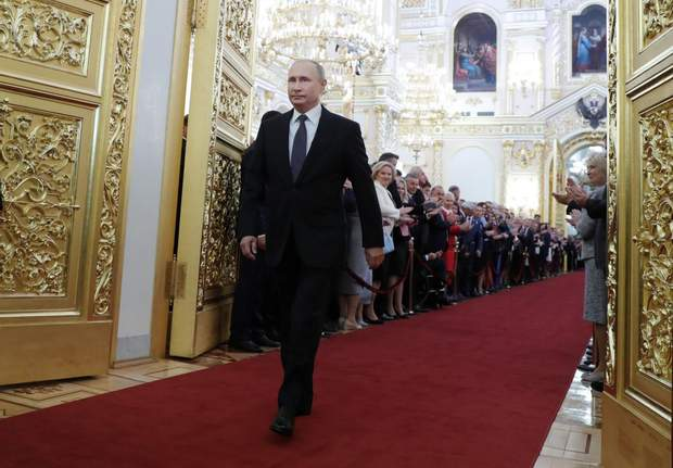 Путін провів церемонію інавгурації