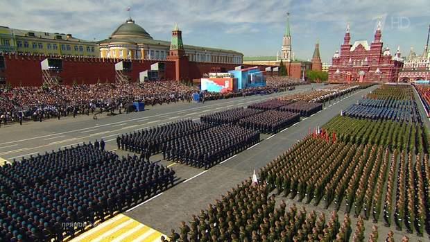 Цьогорічний парад на Червоній площі обійшовся Росії у півмільярда рублів